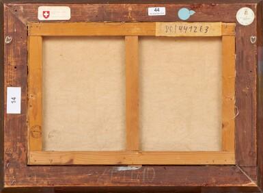 View 3. Thumbnail of Lot 89. Nature morte aux pommes et aux raisins, 1936.
