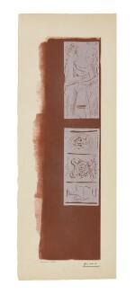 PABLO PICASSO | MADOURA; AND JEUNE HOMME APPORTANT UNE ÉCUELLE À UN VIEILLARD ISAAC ET JACOB (?) (SEE B. 1021, BA. 1270 AND 1271)