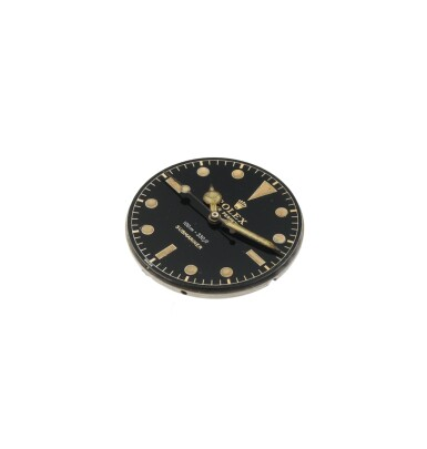 View 6. Thumbnail of Lot 35. 'James Bond Small Crown' Submariner, Ref. 6536/1 Stainless steel wristwatch with bracelet Circa 1955   勞力士6536/1型號「'James Bond Small Crown' Submariner」精鋼鍊帶腕錶,年份約1955.