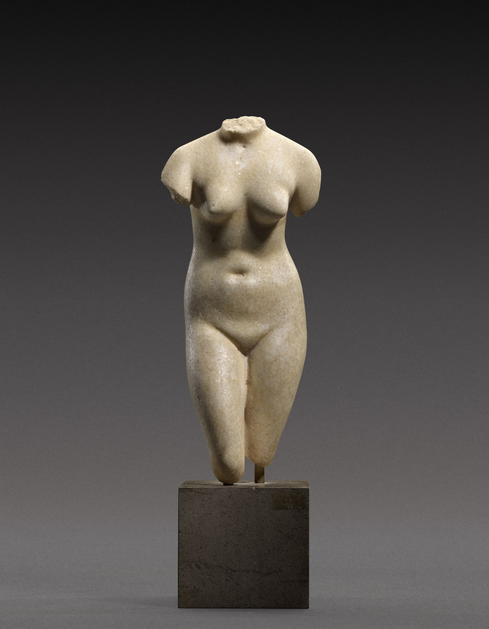 View full screen - View 1 of Lot 39. A Hellenistic Marble Torso of the Capitoline Aphrodite, circa 2nd/1st Century B.C..