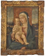 MANNER OF GIOVANNI BELLINI | The Madonna and Child seated before a distant landscape