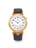 KELEK | A GOLD PLATED AUTOMATIC MINUTE REPEATING WRISTWATCH CIRCA 2000
