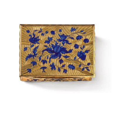 View 2. Thumbnail of Lot 14. A gold and enamel snuff box, Anders Liedberg, Stockholm, circa 1763.