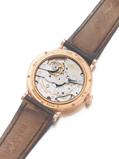 BREGUET   REF 5907, A PINK GOLD WRISTWATCH CIRCA 2005