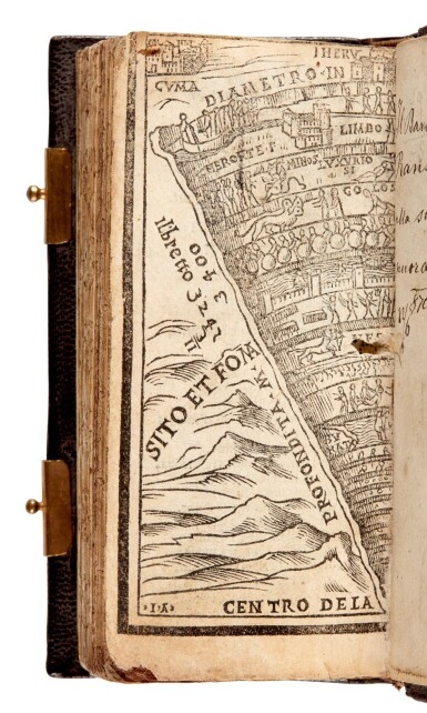 View 4. Thumbnail of Lot 101. Dante col sito, et forma dell'Inferno, [Venice, Paganino, c. 1516], miniature edition.