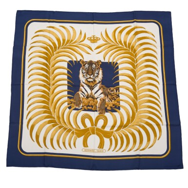 "Hermès ""Tigre Royal"" Silk Twill 90cm"