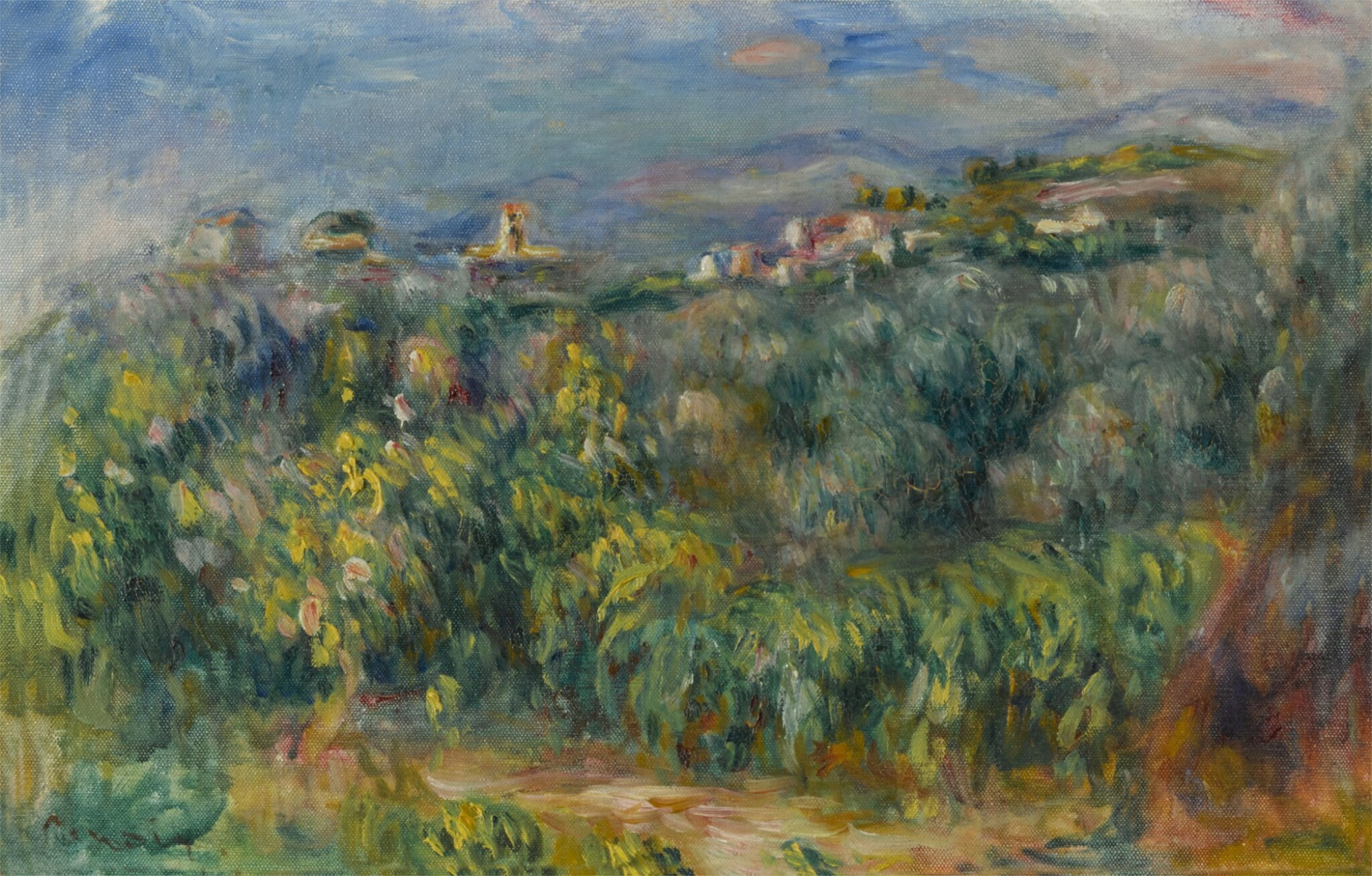 View full screen - View 1 of Lot 39. Paysages de Provence: Cagnes .