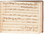 Hasse and Pergolesi. Collection of eighteenth-century Italian manuscripts of opera arias, in three volumes, 1730s