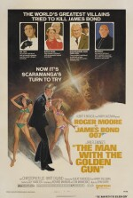 The Man with the Golden Gun (1974) poster, US
