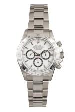 ROLEX | Daytona, Ref 16520 A Stainless Steel Chronograph Wristwatch with Bracelet Circa 1999