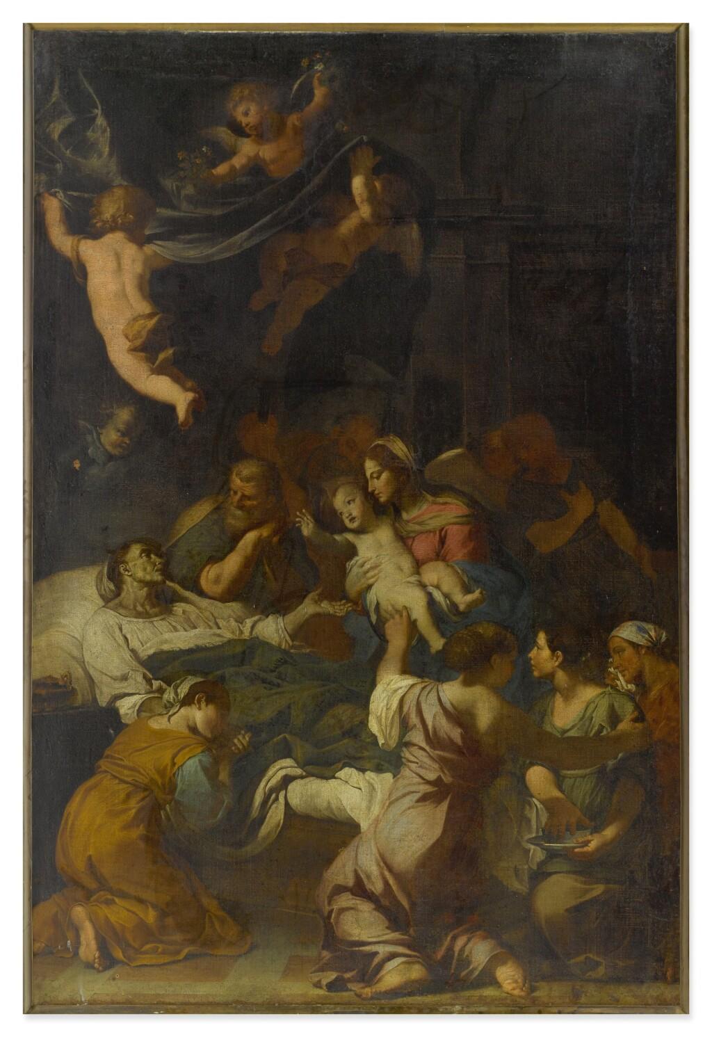 FABRIZIO CHIARI | THE DEATH OF SAINT ANNE