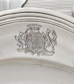 TWO SILVER CIRCULAR DISHES, PARIS, ONE GUILLAUME PIGERON, 1766-1767, THE OTHER EDME-PIERRE BALZAC, 1750-1751 |  DEUX PLATS RONDS EN ARGENT, PARIS, L'UN PAR GUILLAUME PIGERON, 1766-1767, L'AUTRE PAR EDME-PIERRE BALZAC, 1750-1751