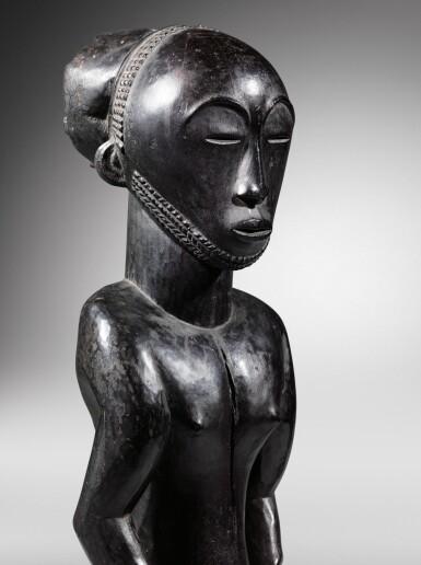 View 4. Thumbnail of Lot 54. Statue, Hemba, République Démocratique du Congo | Hemba figure, Democratic Republic of the Congo.