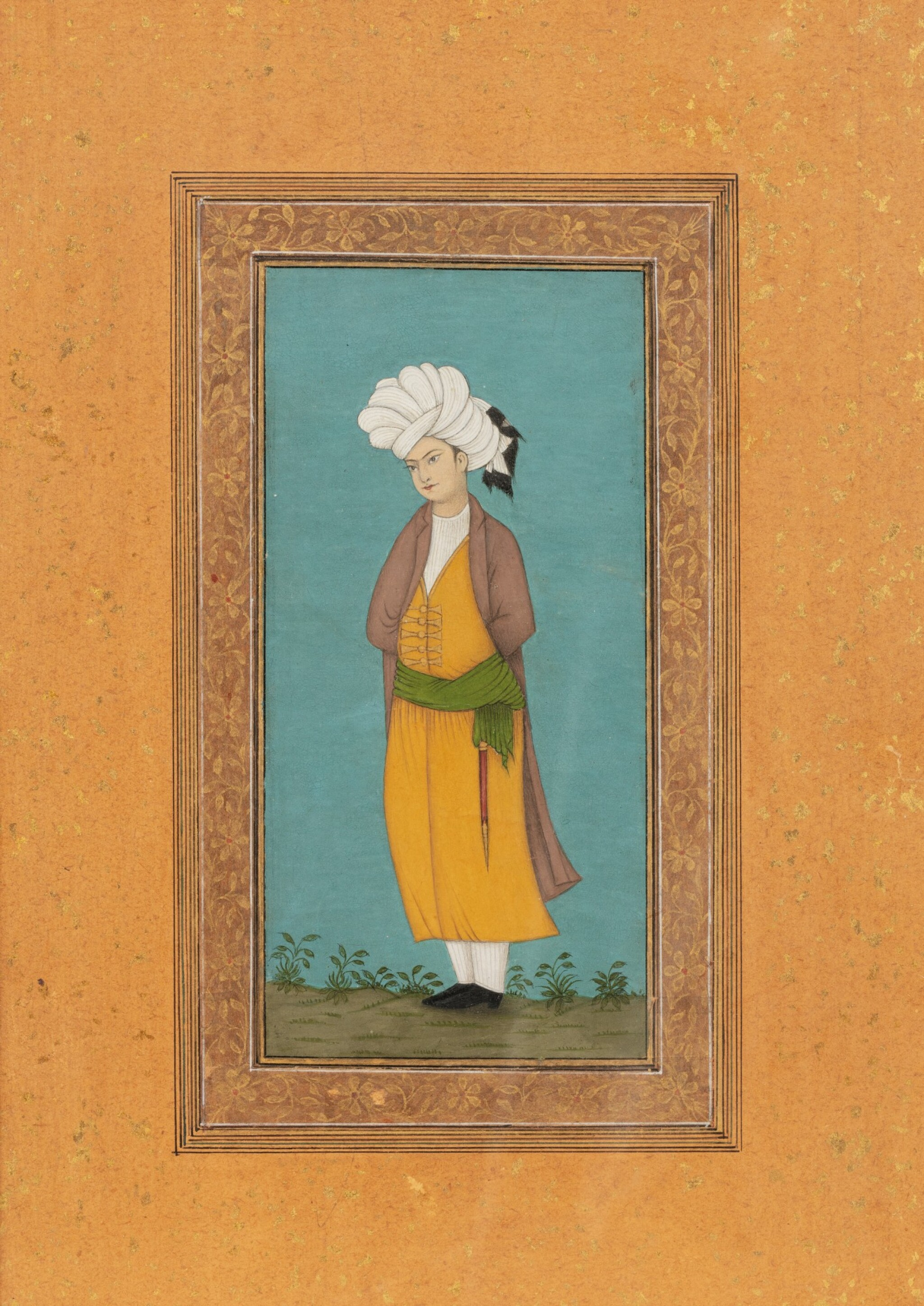 View full screen - View 1 of Lot 71. NORTHERN INDIA AND DECCAN, 19TH CENTURY | FOUR PORTRAITS.