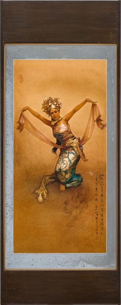 View 2. Thumbnail of Lot 2009. Lee Man Fong 李曼峰   Balinese Dancer 巴厘舞者.