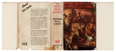 View 3. Thumbnail of Lot 79. Freeman Wills Crofts | The Hog's Back Mystery, 1933, presentation copy inscribed by the author.