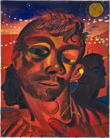 View 1. Thumbnail of Lot 1102. Louis Fratino 路易斯・弗拉蒂諾   Tristan Dancing, Venus 特里斯坦跳舞中,金星.