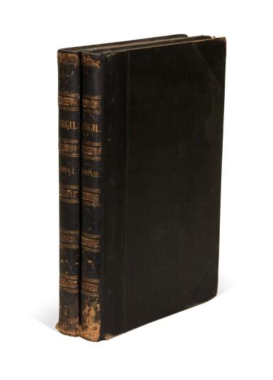 View 2. Thumbnail of Lot 260. Vergil, Opera, Parma, Bodoni, 1793, 2 volumes, half black morocco.