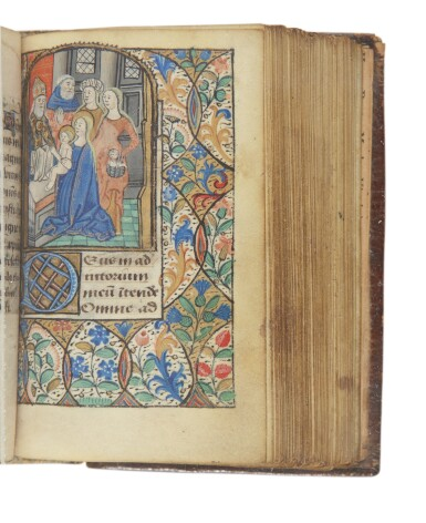 View 2. Thumbnail of Lot 107. BOOK OF HOURS   Manuscript Book of Hours [use of Saint-Pol-de-Léon], in Latin. [France (Brittany): 3rd Quarter of the 15th Century].