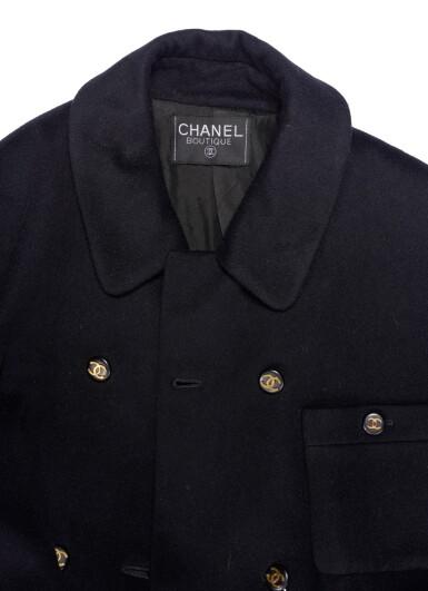 BLACK COAT, CHANEL