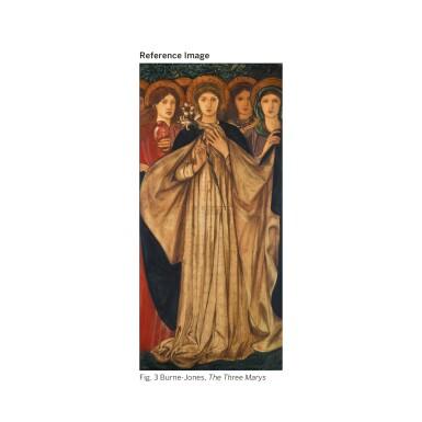 View 6. Thumbnail of Lot 15. SIR EDWARD COLEY BURNE-JONES, BT., A.R.A., R.W.S. | ST BARBARA, ST DOROTHY AND ST AGNES.