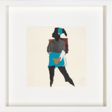 View 20. Thumbnail of Lot 801. DEBORAH ROBERTS | THE HISTORY OF EVERYTHING, PART THREE.