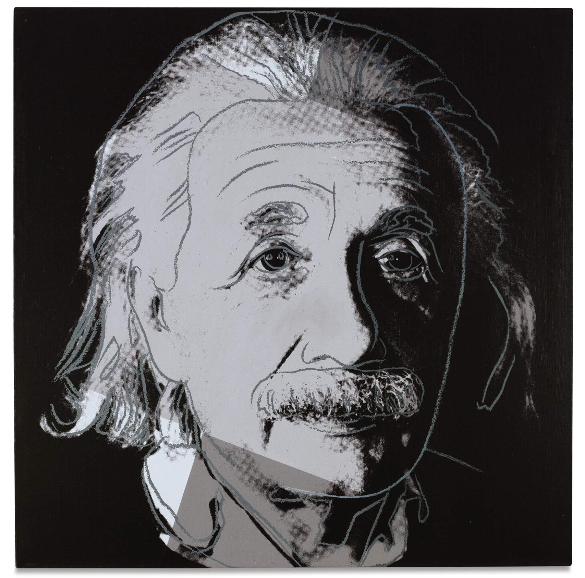 View full screen - View 1 of Lot 10. ANDY WARHOL | ALBERT EINSTEIN (FROM TEN PORTRAITS OF JEWS OF THE 20TH CENTURY).