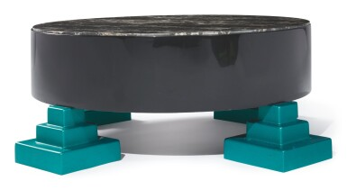 "ETTORE SOTTSASS | ""PARK LANE"" COFFEE TABLE"