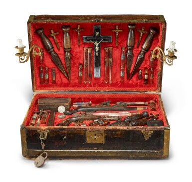 View 1. Thumbnail of Lot 346. A Vampire Slaying Kit, 20th Century and Later.
