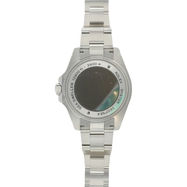View 4. Thumbnail of Lot 96. REFERENCE 116660 DEEP-SEA A STAINLESS STEEL WRISTWATCH WITH DATE AND BRACELET, MADE TO COMMEMORATE JAMES CAMERON'S DEEPSEA CHALLENGE, CIRCA 2017.