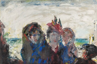 JACK B. YEATS, R.H.A.    A PARIS OF THE WEST /  A PARIS COME TO JUDGMENT IN THE WEST