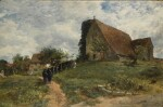 SAMUEL BOUGH | The church at the Hospital of St. Nicholas, Harbledown, near Canterbury