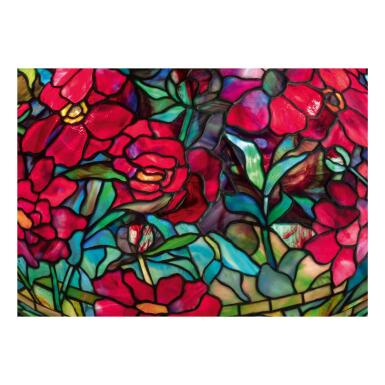"""View 2. Thumbnail of Lot 8. """"Peony"""" Table Lamp."""