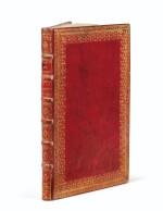 COMPAGNIE DES INDES. Manuscrit. Traité du commerce, 1724. In-fol. maroquin rouge à dentelles de l'époque.