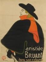ARISTIDE BRUANT DANS SON CABARET (D. 348; ADR. 12; W. P9)