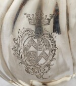 A GERMAN SILVER CHOCOLATE-POT, JAKOB WILHELM KOLB, AUGSBURG, 1779-1781 |  CHOCOLATIÈRE À CÔTES TORSES EN ARGENT PAR JAKOB WILHELM KOLB, AUGSBOURG, 1779-1781