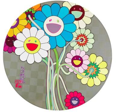 View 2. Thumbnail of Lot 36. TAKASHI MURAKAMI   FLOWERS FOR ALGERNON; AND WARHOL/SILVER.