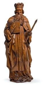 SOUTHERN NETHERLANDISH, PROBABLY LIÈGE, EARLY 16TH CENTURY | KING DAVID