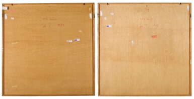 View 2. Thumbnail of Lot 25. Untitled (Mr. 5); Untitled (Mr. 6) (Two Works).