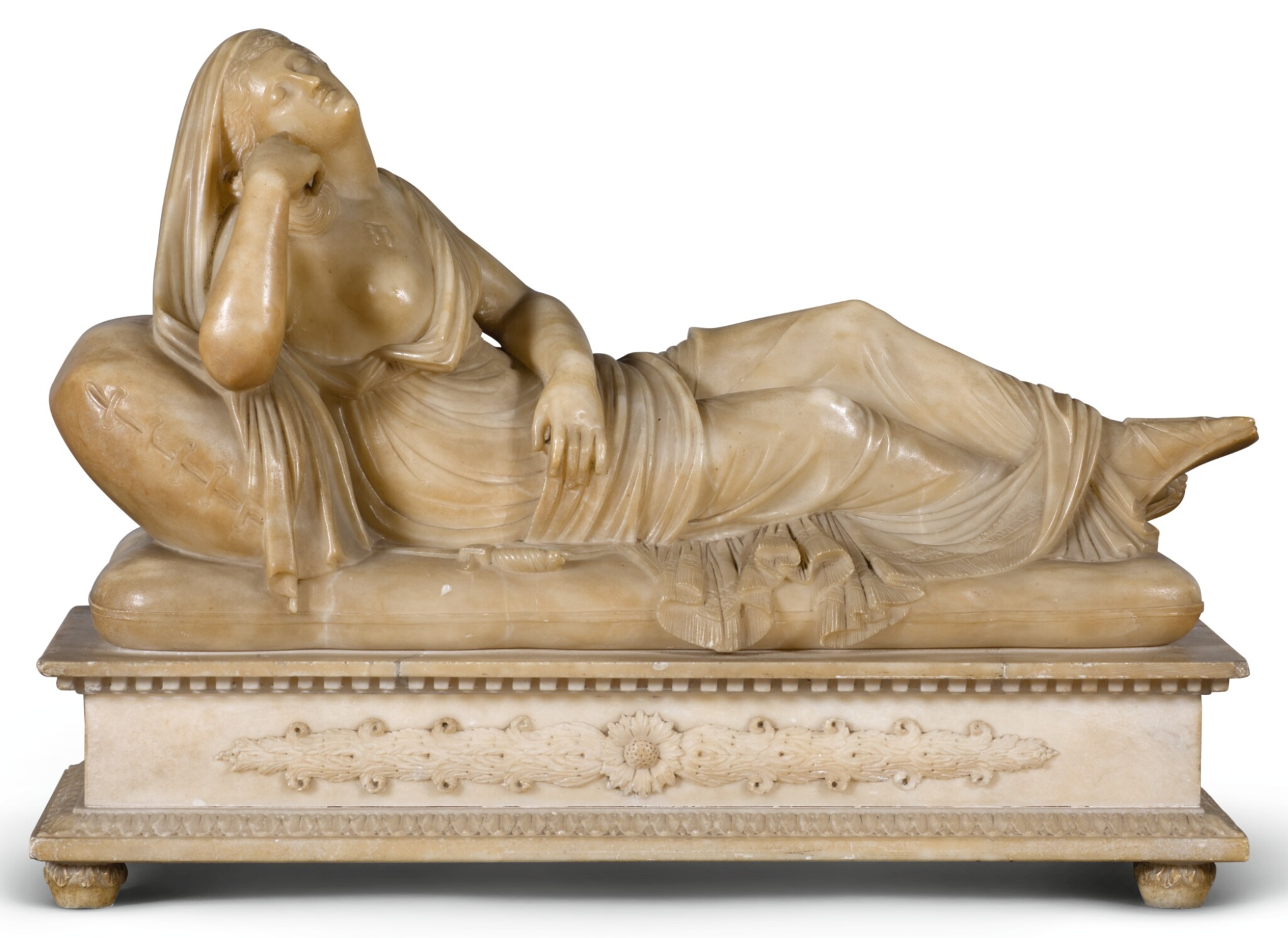 ITALIAN, LATE 18TH CENTURY AFTER THE ANTIQUE | Lucretia as the Sleeping Ariadne