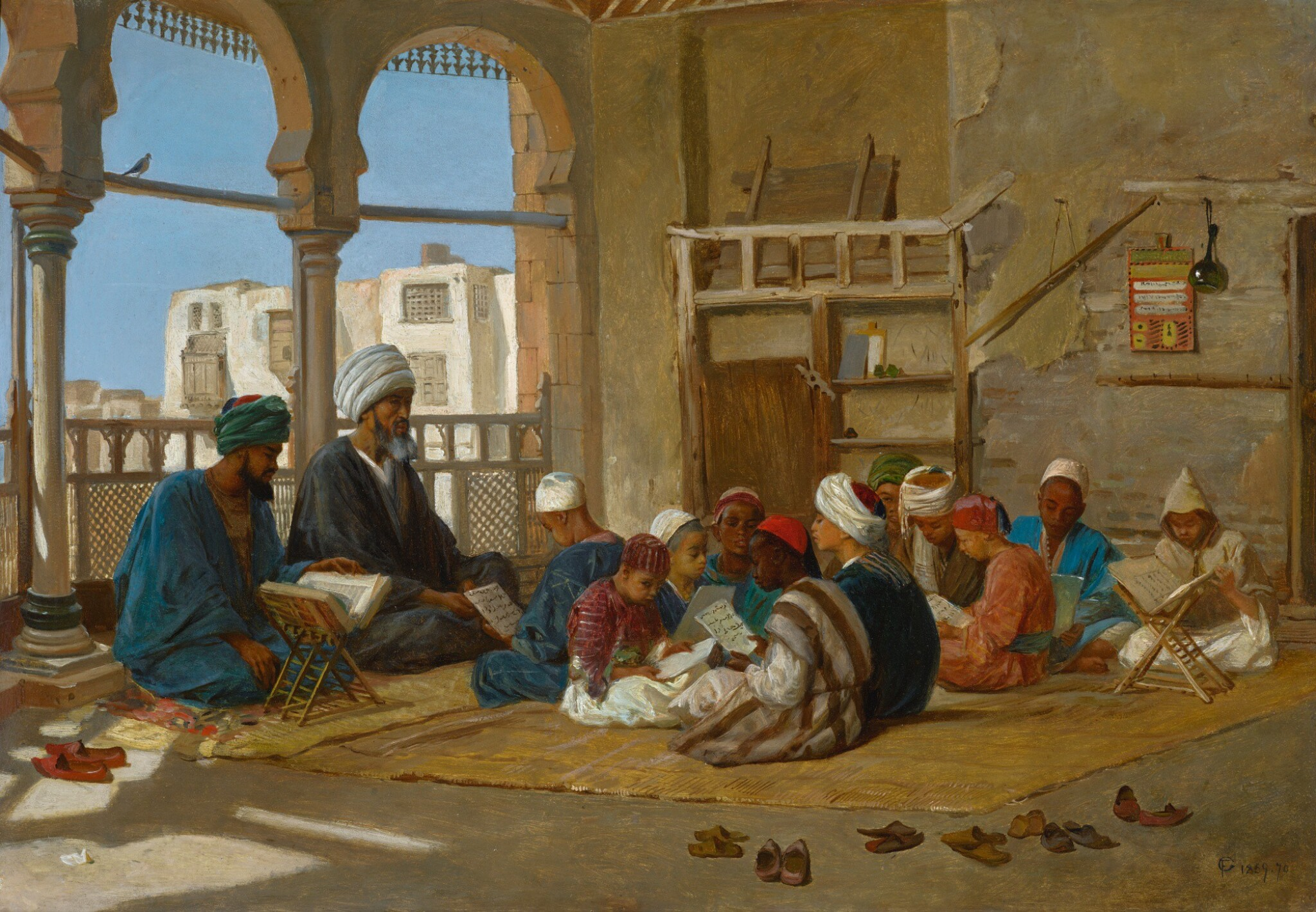 View 1 of Lot 30. FREDERICK GOODALL | THE MADRASA.