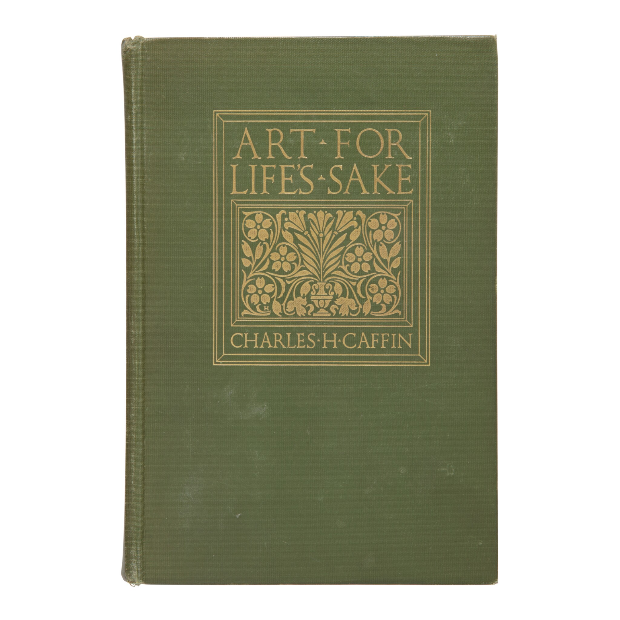 CHARLES H. CAFFIN | ART FOR LIFE'S SAKE. NEW YORK: (1913), GEORGIA O'KEEFFE'S COPY