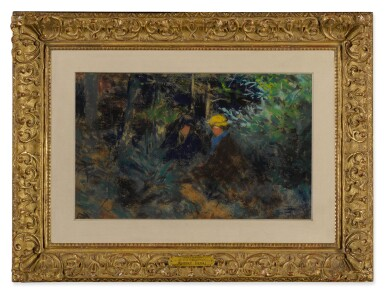 View 2. Thumbnail of Lot 144. Conversation in the Forest.
