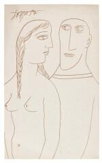 FRANCIS NEWTON SOUZA | Untitled (Couple)