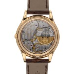 PATEK PHILIPPE   REF 3940R, A ROSE GOLD AUTOMATIC PERPETUAL CALENDAR WRISTWATCH WITH MOON PHASES CIRCA 2002