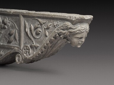 View 3. Thumbnail of Lot 129. Italian, Tuscany, 16th century | Pair of Architectural Brackets.