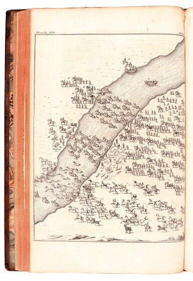 View 2. Thumbnail of Lot 303. Marsigli, Stato militare dell'imperio Ottomano, The Hague, 1732, contemporary calf.