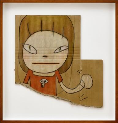 View 2. Thumbnail of Lot 525. Yoshitomo Nara 奈良美智 | With the Skull Brooch 帶著骷髏胸針     .