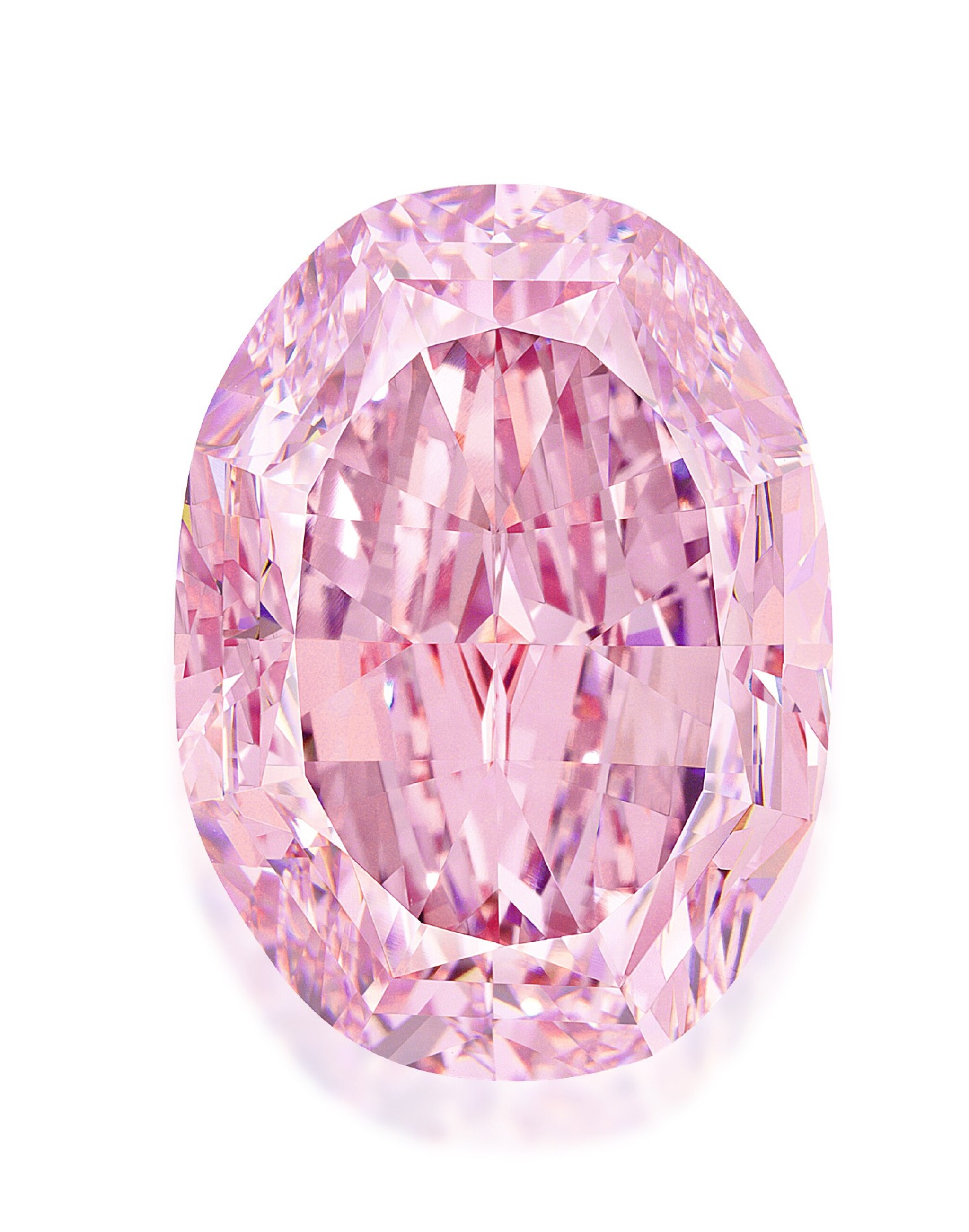 View 1 of Lot 204. SUPERB AND MAGNIFICENT FANCY VIVID PURPLE-PINK DIAMOND.