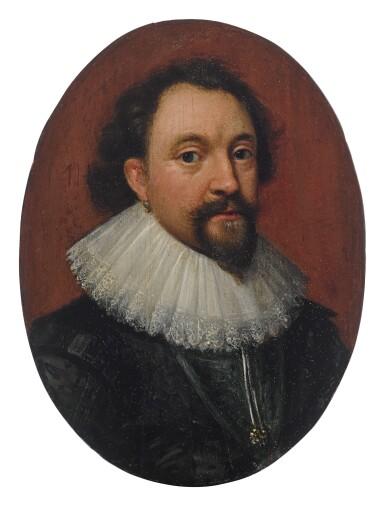 View 1. Thumbnail of Lot 618. Portrait of William Herbert, 3rd Earl of Pembroke (1580 - 1630).